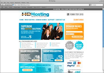 HD Hosting, Website Hosting